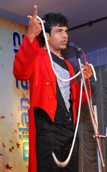 stand-up comedy magic india