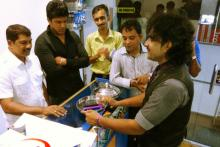 Product promotion magic for the Microsoft Ernakulam, Kerala, India